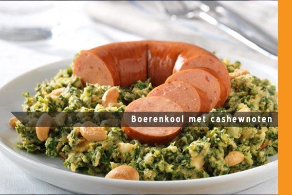 MijnAardappel.nl - Recept Boerenkool met cashewnoten