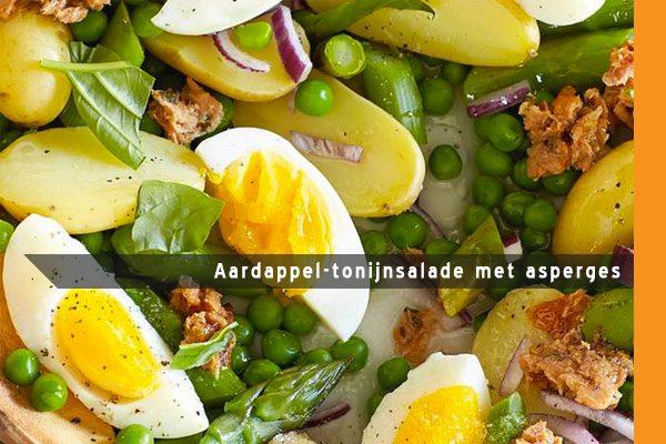 MijnAardappel.nl - Aardappel-tonijnsalade met asperges