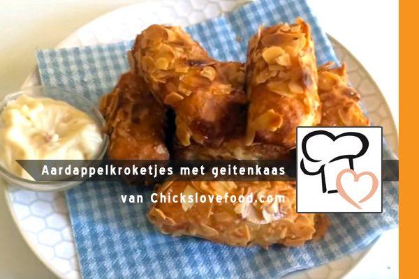 MijnAardappel.nl - Aardappelkroketjes met geitenkaas