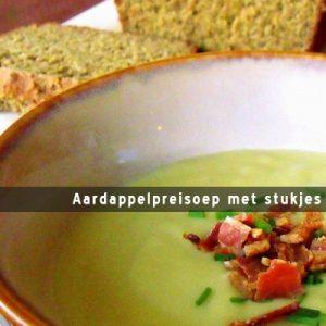 MijnAardappel.nl - Aardappelpreisoep met stukjes bacon