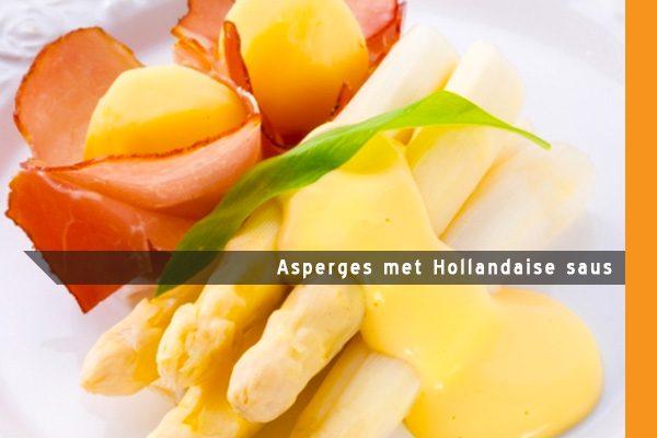 MijnAardappel.nl - Recept Asperges met Hollandaise saus