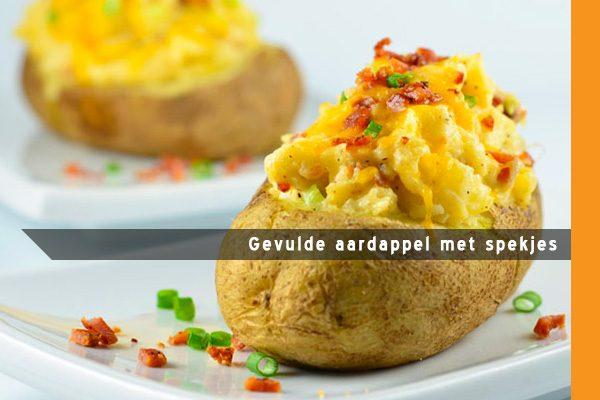 MijnAardappel.nl - Gevulde aardappel met spekjes