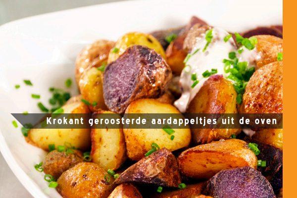 MijnAardappel.nl - Krokant geroosterde aardappeltjes uit de oven