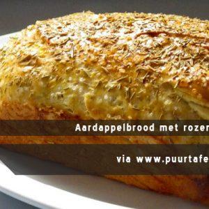 MijnAardappel.nl - Recept Aardappelbrood met rozemarijn